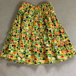 Hanna Andersson twirl skirt, size 90, like new!
